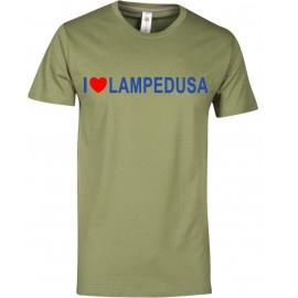 T-shirt uomo verde army