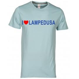 T-shirt uomo acquamarina